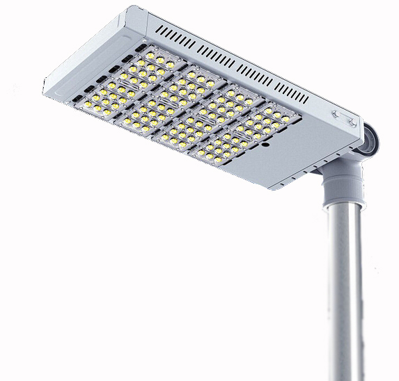 120Watt  Outdoor Led Street Lights High Power Bridgelux Chip Meanwell Driver UL CE